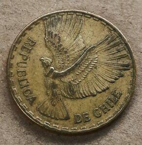 1964 CHILE 10 CENTIMOS COIN -