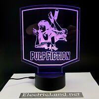 Uma Thurman Pulp fiction lampada luce notturna Led 3D Acrylic Night Light Lamp