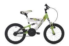 Kinderfahrrad Mountainbike Fully 16 Zoll Zodiac weiß-grün KS Cycling 612K