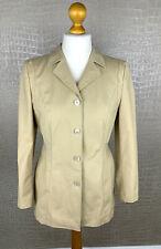 RENA LANGE Damen Gr. 42 (40) Jacke Blazer Business Stretch Jacket Beige #308