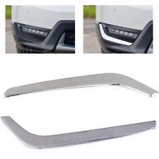 fit 2017 2018 Honda CR-V CRV Stainless Steel Front Fog light Eyebrow Cover Decor