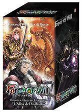 15 Booster Box: L'Alba del Valhalla - Dawn of FORCE OF WILL FoW Italian