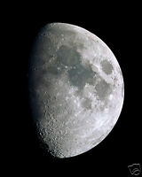 Moon Outer Space NASA Outer Space 11 x 14 Photo Poster Photograph