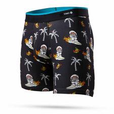 Stance Underwear MENS Space Monkey Boxer Brief SMALL BLACK NWOT RARE