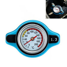 Car Thermostatic Gauge Radiator Cap 1.3 Bar Big Head Uprated Blue 240 degrees