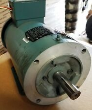 NEW RELIANCE 2 HP 3 PHASE DUAL SHAFT MOTOR  /   35W804P737G1
