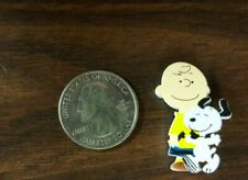 Snoopy and Charlie Brown New Wood Pin -