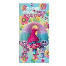 I bambini Troll Poppy 70 x 140cm 'mostra il tuo vero colori' TELO SPIAGGIA IN POLIESTERE