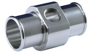 """Schlauchkupplung, 45 mm 1/8"""" NPT Silikonschlauch silicone hose connector adaptor"""