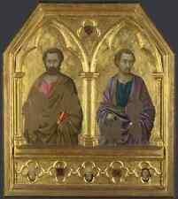 Ugolino Di Nerio Saint Simon And Saint Thaddeus (Jude) A4 Print