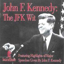 John F. Kennedy:THE JFK WIT CD HIGHLIGHTS OF MAJOR SPEECHES