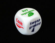 1 PC 25mm Novelty dice Housework Dice Fun Dice Game for Family Housekeeping Game