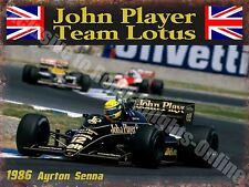 Automobilismo Classico John Player Lotus JPS Senna Di Ayrton 32