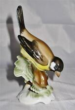 Rosenthal Bird Figurine, Vintage, Sparrow, Hugo Meisel