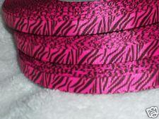 Zebra Stripe Ribbon Korker Hair Bows, Scrapbook, Invitation, Bachelorette Korker
