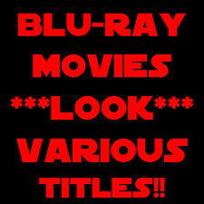 Star Wars Ep. 4 5 6 Single Triple or Trilogy Sets & Kill Bill Vol 1-2 Blu Ray