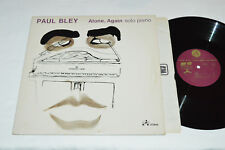 PAUL BLEY Alone, Again Solo Piano LP 1975 IAI-373840 Contemporary Jazz VG/VG