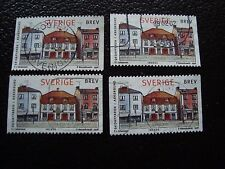 SUEDE - timbre yvert et tellier n° 2022 x4 obl (A29) stamp sweden