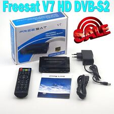 Freesat V7 HD DVB-S2 New Digital Satellite TV Receiver decoder Support USB Wifi