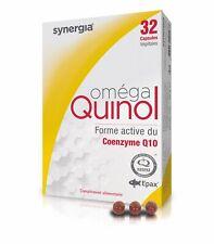 Oméga Quinol LABORATOIRE SYNERGIA 32 capsules NEUF