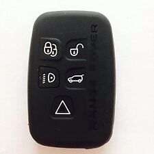New Silicone Key Fob Cover Holder for LAND ROVER Range Rover Sport Evoque LR4