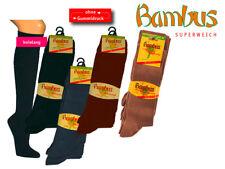 Knee Socks With Bamboo, 3er Pack, for Women and Men