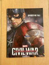 CAPTAIN AMERICA CIVIL WAR Japan PROGRAM Pressbook + flyer x3! THOR Iron Man HULK
