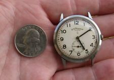 VINTAGE MENS ELGIN, B.W. RAYMOND, 780 MOVEMENT, WRISTWATCH, STILL WORKS RESTORE