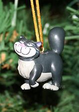 Custom Disney Princess Cinderella Lucifer Cat Holiday Christmas Ornament PVC NEW