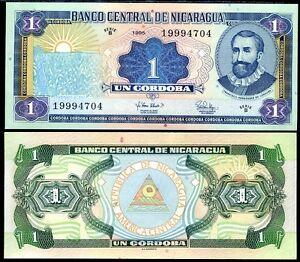 NICARAGUA 1 CORDROBA 1995 P 179 UNC