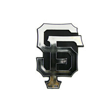 New MLB San Francisco Giants 3-D Chrome Plastic Car Truck Emblem Made in USA