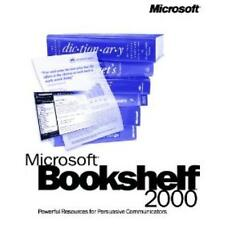 MS Bookshelf 2000 PC CD dictionary thesaurus quotations encyclopedia resources +