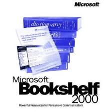MS Bookshelf 2000 PC CD dictionary thesaurus quotations encyclopedia resources +