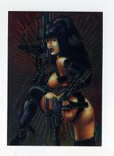 Comic Images 1995 Double Impact High Impact Chromium Promo Card Unnumbered
