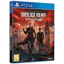 Sherlock Holmes The Devil's Daughter PS4 Game