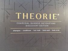Theorie Charcoal Bamboo Detoxifying Discovery Edition 5 Piece Set Travel Size