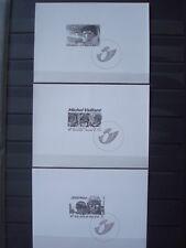BELGIUM 3 BLACK & WHITE BLOCS BD HEROES Michel VAILLANT XIII JEREMIAH COMICS