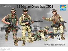 Trumpeter 00407 US Marine Corps Iraq 2003 - amerikanische Soldaten - 1:35