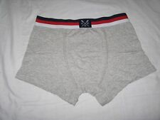 """BRAND NEW   CREW CLOTHING Classic Trunk Boxers  Grey  32 """" - 34 """" Waist"""