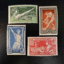 JEUX OLYMPIQUES OLYMPICS GAMES 1924 N°183/186 NEUF ** LUXE MNH COTE 160€