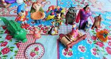 Lot de 12 figurines  DISNEY, MAC DONALD'S, DALTON, BOB l'EPONGE, OUI-OUI etc