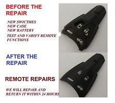 SAAB 93 95 9-3 9-5 TID AERO REMOTE KEY FOB REPAIR SERVICE REFURBISH  FAULTY FIX