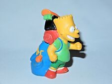 THE SIMPSONS CAMPING PVC FIGURE BART 1990 BURGER KING PROMO TOY