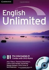 English Unlimited Pre-intermediate B Combo with DVD-ROMs (2), Robinson, Nick, Ca