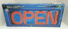 Pro-Lite Multi-Color LED 'Open' Sign with Wireless Remote and Hardware Included