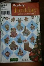 SIMPLICITY HOLIDAY PATTERN COLLECTION 4810 ONE SIZE