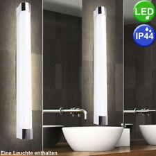 LED Wand Lampe Bade Zimmer Spiegel Beleuchtung Nass Raum Röhre Chrom Leuchte