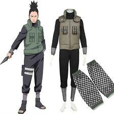 Deluxe Naruto Costume Hatake Kakashi Men Naruto Cosplay Costume Any Size Custom