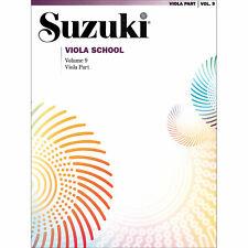 Suzuki Viola School - Volume 9 - Book - Authorized Dealer!