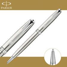 Parker Sonnet Ballpoint Pen Silver Clip Parker Ball point Pen Refill Business H7